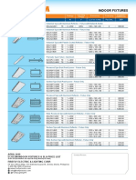 Price List EcoLum Indoor SLA Price List April 2019 Issue