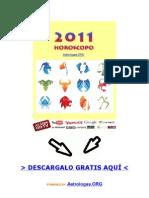 Horoscopo 2011 Predicciones Semanales