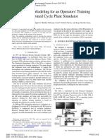 Lube Oil System Modeling for Operator Training WCECS2010_pp1002-1008