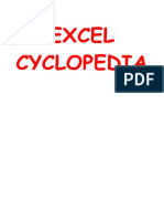 Excel Cyclopedia