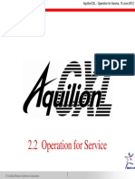 2.2_AquilionCXL Biomed - Operation for Service