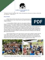 August 2019 GOJM Newsletter
