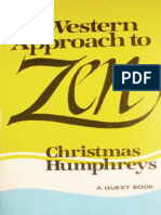 Christmas Humphreys - Western Approach to Zen. a Quest Book - Ed.tph - 1972 (Ing)