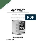 Manual Variador Bonfigliori vectron