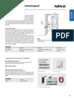Katalog PP Vrata i Prozori - Elektromagnet