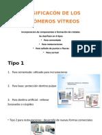 CLASIFICACÓN DE LOS IONÓMEROS VÍTREOS.pptx