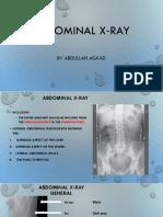 Abdominal X‐Ray