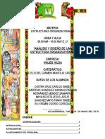 ANÁLISIS Y DISEÑO DE UNA ESTRUCTURA ORGANIZACIÓNAL