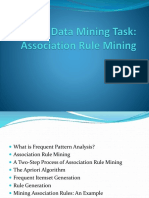 Data Mining Task - Association Rule Mining