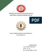 Izaatnagar railway report