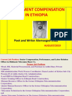 Compensation and Its Application in Ethiopia