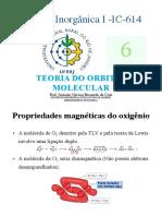 TOM - teoria de orbital molecular