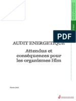 Audit Energetique