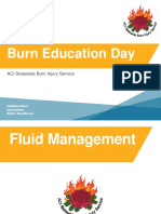 ACI Burn Education Day Lecture 2 Early Management Part 2 2016