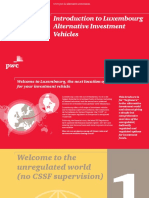 Structuring Introduction to Luxembourg Alternative Investment Vehicles [PWC]