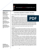 Curriculum.....Intre Jrnl of Apld Research