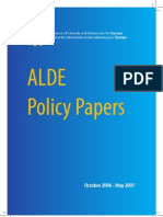 ALDE - Policy Papers En