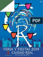 Ferias y fiestas de ciudad real 2019