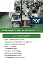 Unit 1- Operations Management