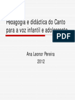 Voz Infantil - Leonor Pereira