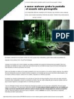 Sextorsión_ Un Nuevo Malware Graba La Pantalla Cuando El Usuario Mira Pornografía - Infobae