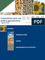 Lineamientos para una Politica Industrial