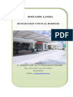 Proposal Progam Posyand Lanjut Usia