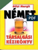 Erdélyi Margit NÉMET  Társalgási Kézikönyv 1