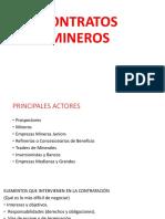 CONTRATOS MINEROS