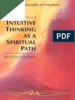 Steiner - A Philosophy of Freedom
