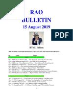 Bulletin 190815 (HTML Edition)