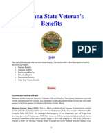 Vet State Benefits - MT 2019