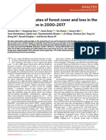 Improved estimates of forest cover and loss in the Brazilian Amazo in 200-2017