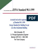 ASHRAE/IESNA Standard 90.1-1999