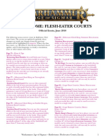 Flesh-eater courts errata