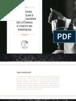 14998828523958 eBook Dicas Equipes de Liturgia