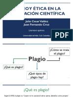 Plagio y Ética en La Publicación Científica (1)