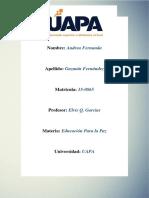 Tarea I Educación para la Paz Y Formación Ciudadana.docx