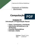Apostila Eduardo Corrêa - Linguagem Pascalzim (pt-BR) Unidade IV