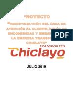 Ultimo Avance Oficial Proyectostrsnporteschiclayo 11julio