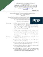 2.3.5.1 Sk Kewajiban Mengikuti Orientasi Bagi Kepala Puskesmas Penanggung Jawab Program Dan Pelaksanaan Kegiatan Yang Baru