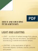 1 - Illumination Design