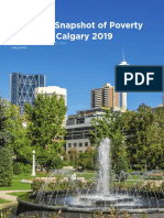 A Snapshot of Poverty in Calgary in 2019