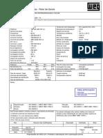 Motor Folha de Dados - Fdc_20835290_r1