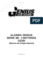 Manual de alarma genius