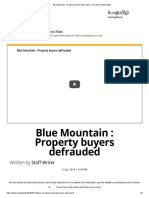 Blue Mountain _ Property Buyers Defrauded - Sri Lanka Latest News