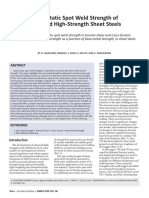 2017_03 Quasi­Static Spot Weld Strength of advanced high-strength sheet steels