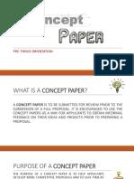3 Concept Paper Orientation