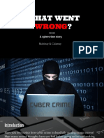 A Cyber Crime Story