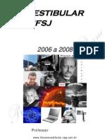 Questões de Física da UFSJ 2006-08
